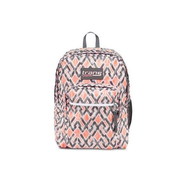 """Trans By JanSport 17"""" SuperMax Backpack - Purple : Target ($30) ❤ liked on Polyvore featuring bags, backpacks, jansport bags, jansport daypack, backpack bags, pink bag and jansport backpack"""