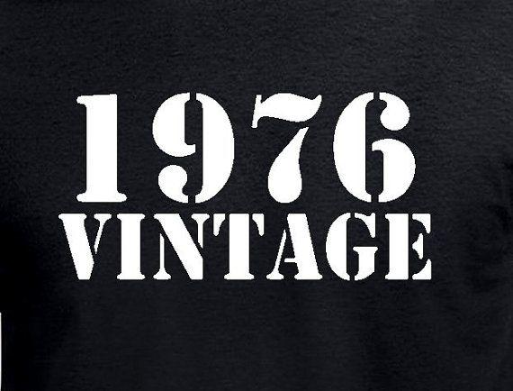 40ste Gift van de verjaardag voor man broer vriend vriendje oom T Shirt aanwezig grappige Vintage T-Shirt 40e verjaardag leeftijd 40 jaar geboren draaien
