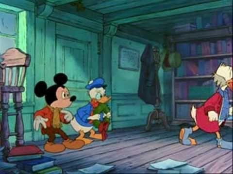 cuento de navidad de Mickey