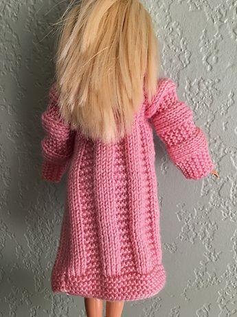 Pamclyde's Pink Barbie Coat in 2020   Crochet barbie ...