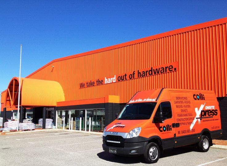 Colli Timber and Hardware Daily Vans