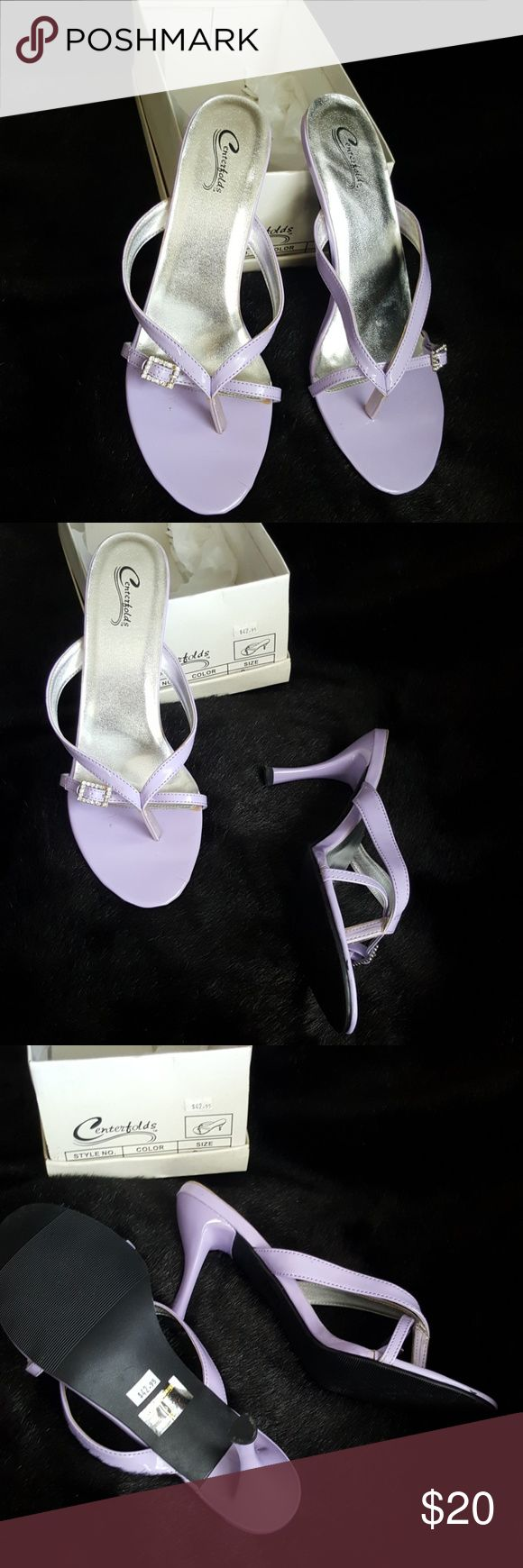 Centerfolds Lilac Heels New Lilac heels..New i  Box centerfolds Shoes Heels