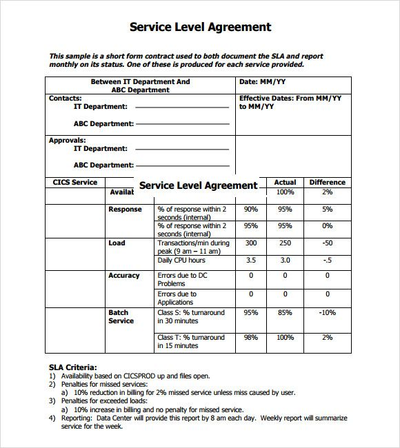 Each template has 26 pages of sample material including sections on scope of maintenance, financials, reporting, terms and conditions, service level agreement, expected growth and change, and costs. Pin On Quick Saves