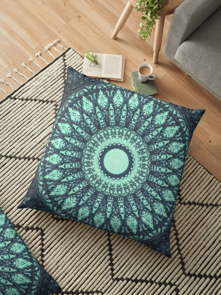 MANDALA NO. 30 by sboara 💕💕 pillows  Cute and kawaii designs on pillows  for teens, girls and kids. Find decorative pillows for bedroom, with sayings or beautiful designs. #design #decor #society6 #cute #kawaii #pillow #pillows #sboar #lovely #interior #home #bedroom #bedroomdecor #animals #pets #wild #flower #floorpillow #floor #mermaid