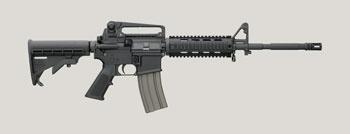 AR-15 Bushmaster Quad Rail Patrolman's Carbine
