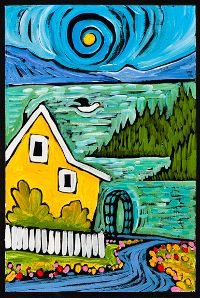 Ben Mann ~ Island Cottage - Ben lives & works in Bellingham, WA (beautiful!)