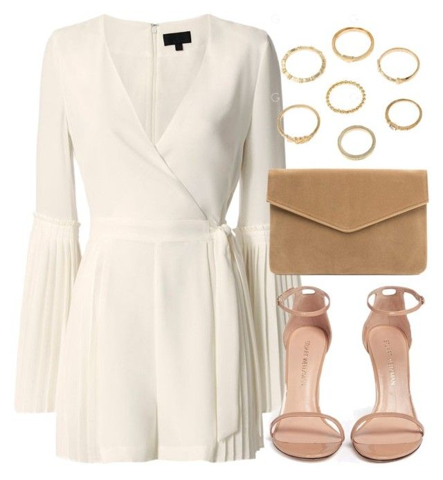 """Sin título #12856"" by vany-alvarado ❤ liked on Polyvore featuring Exclusive for Intermix and Stuart Weitzman"