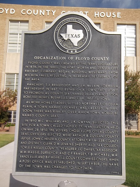 how to write a historical marker texas