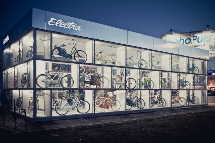 Electra BikeHub  / Andrey Ukolov + Ekaterina Osipova