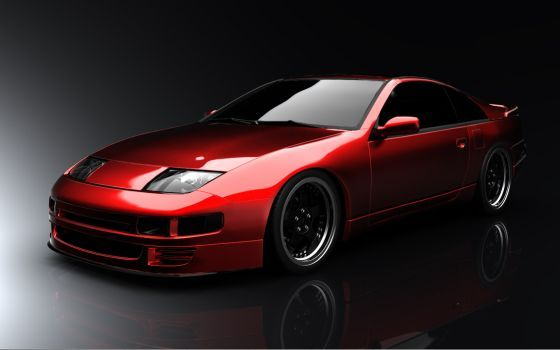 Nissan 300zx with SSRs by tsefreeflow