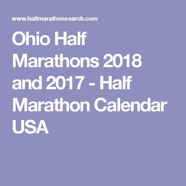Ohio Half Marathons 2018 and 2017 - Half Marathon Calendar USA