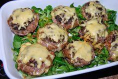 O kuchni z uczuciem : Babeczki mięsne z pieczarkami.