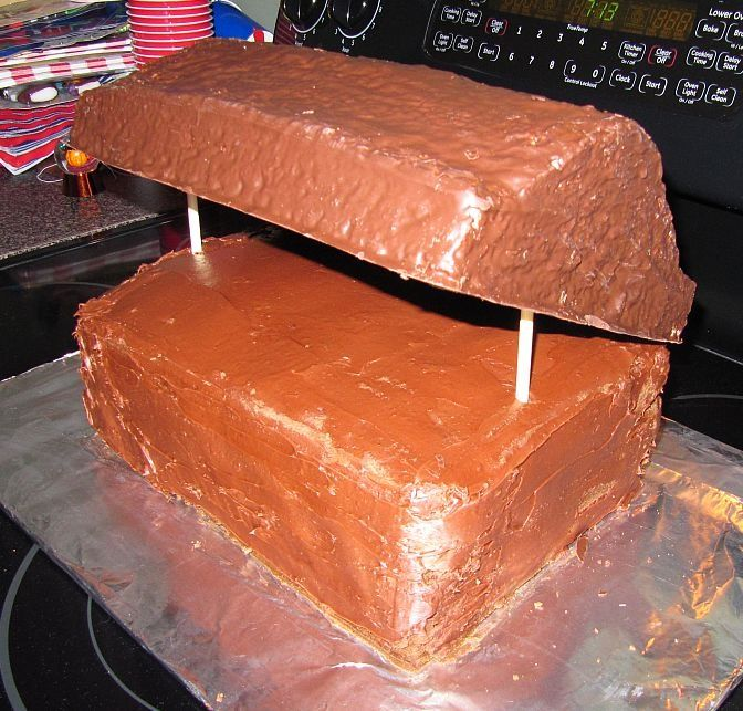 Treasure Chest Birthday Cake cakepins.com