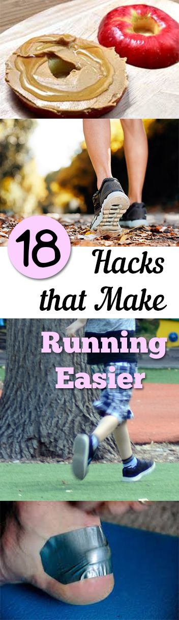 18 Hacks that Make Running Easier