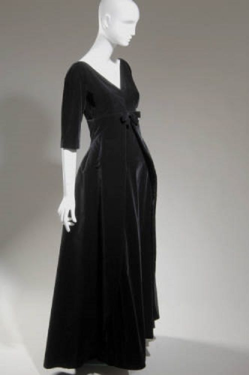 Evening dress by Balenciaga, 1955, France.