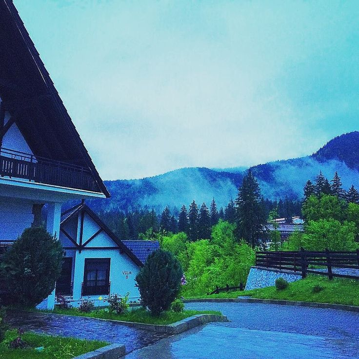 E de stat in cabana clar. #poianabrasov #mountainlife #mountainview