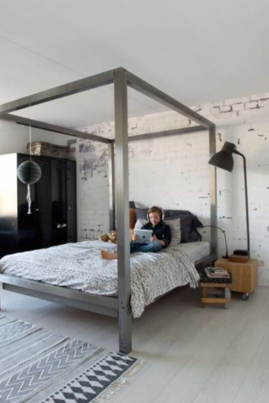 """This nice boy's bedroom is from our feature """"December Fun"""""""