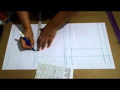 MODELAGEM - Aprendendo a traçar gola: 6ª aula - YouTube