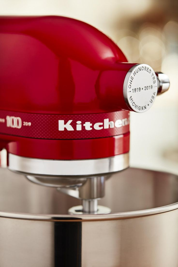 Kitchenaid 100 year limited edition red stand mixer
