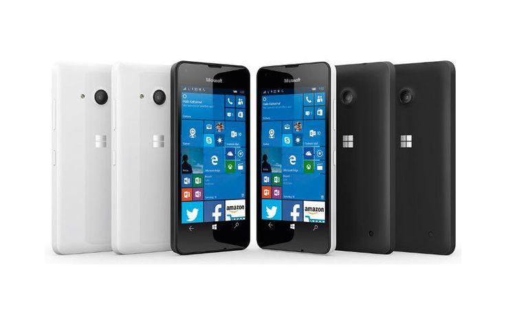 El nuevo smartphone barato de Microsoft, el Lumia 550 con Windows 10