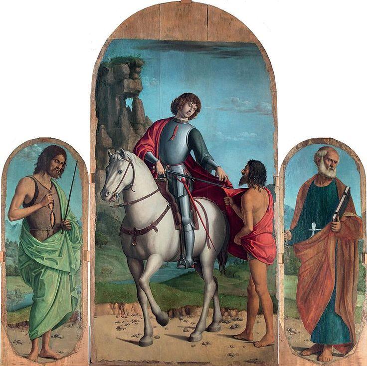 587. Cima da Conegliano - Trittico di Navolè di Gorgo al Monticano - Vittorio Veneto, Museo Diocesano d'Arte Sacra Albino Luciani