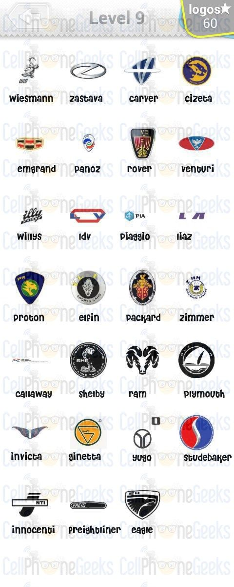 Best Logo Quiz Cars Answers Images On Pinterest Quizes Car - Car sign with namesclick a car logo quiz
