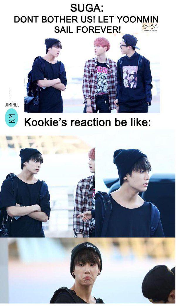 "Justinne on Twitter: ""Poor Jungkook. haha #BTS #meme #yoonmin ..."