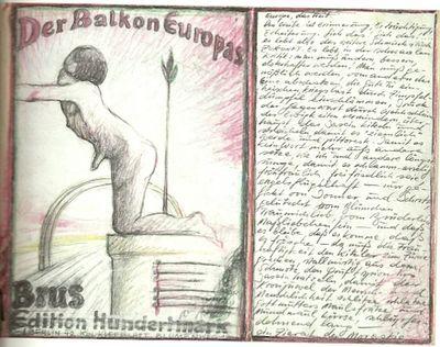 """GÜNTER BRUS, """"Der Balkon Europas"""""""