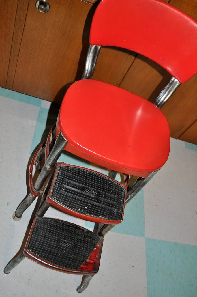 Vintage Cosco Stool Good Restoration Tips Are In The