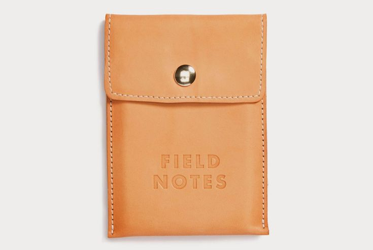 """Field Notes """"Pony Express"""" Leather Pouch — Tools and Toys"""