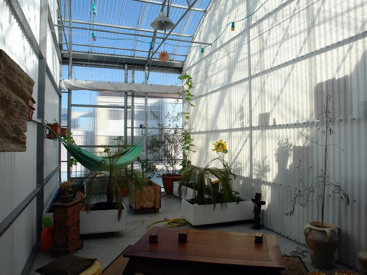 sala de estar invernadero Lacaton Vassal