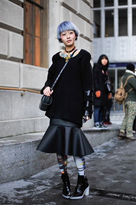 ストリートスナップ [Fil]   ANREALAGE, アンリアレイジ   ニューヨーク   Fashionsnap.com