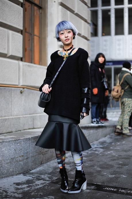ストリートスナップ [Fil] | ANREALAGE, アンリアレイジ | ニューヨーク | Fashionsnap.com
