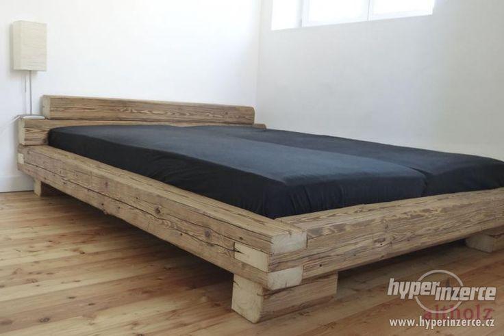 postel z trámů - Hledat Googlem