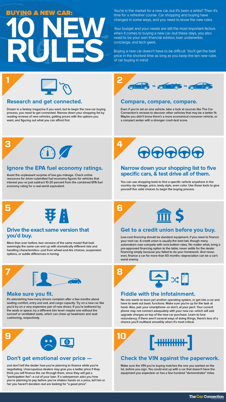 10 10 tips for car buying - The 10 New Rules Of Car Buying