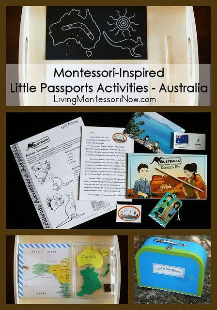 Montessori-Inspired Little Passports Activities - Australia {+ Little Passports Holiday Special & Giveaway} #Montessori #homeschool