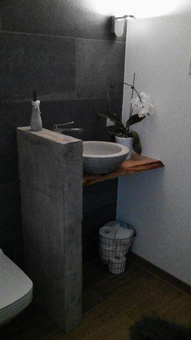 die besten 25 beton badezimmer ideen auf pinterest beton dusche badezimmerwaschtische und. Black Bedroom Furniture Sets. Home Design Ideas