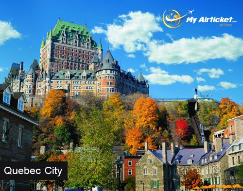 Quebec City in CANADA.. #travel #flights #airfare #airline #Dallas #India #airtickets #Newyork#international #myairticket #Cheapest  http://www.myairticket.com/myairticket/india.php