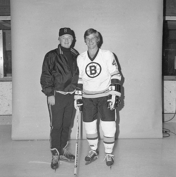 Don Cherry & Bobby Orr 1974