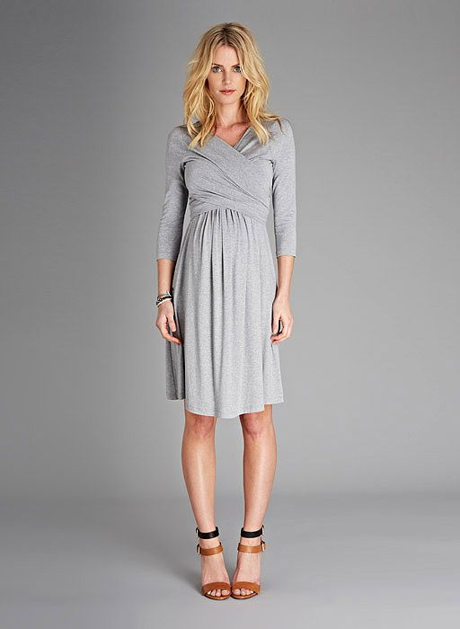 Emily Maternity Dress at isabellaoliver.com. Will work well for post-baby nursing, too.