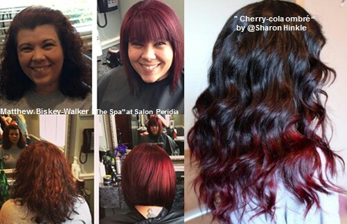 Cherry Cola Hombre Hair Pinterest Cherries Ombre