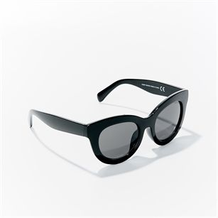 Cheap Monday Love sunglasses, Black, medium