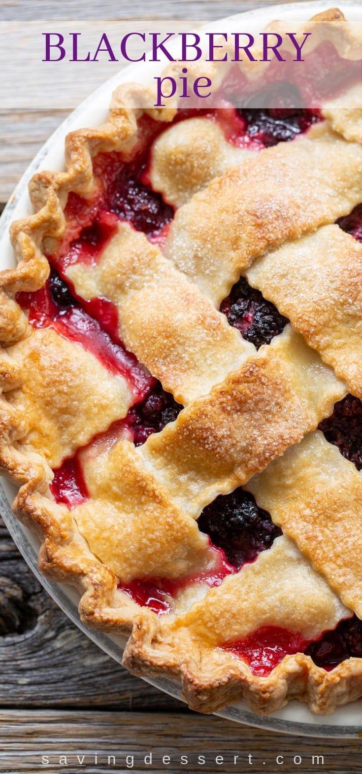 Blackberry Pie Recipe Comfort Food At It S Best Blackberry