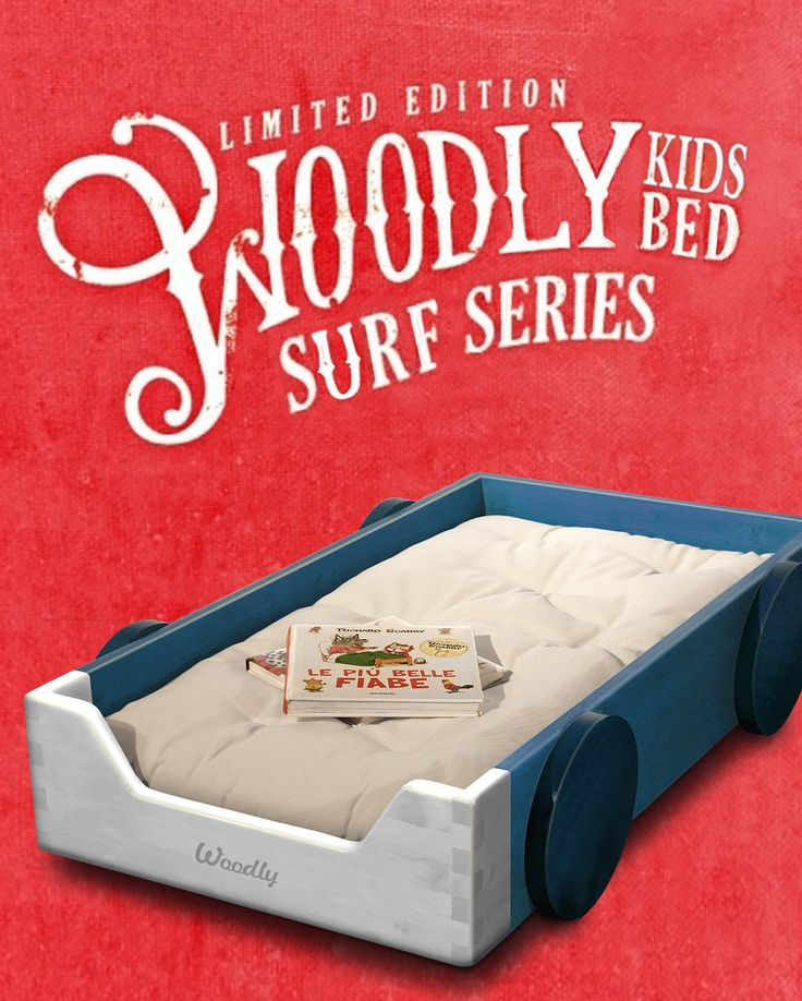 """Surf"" Montessori floor bed"