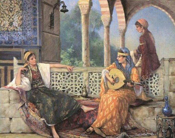 Kamil Aslanger sarayın perileri