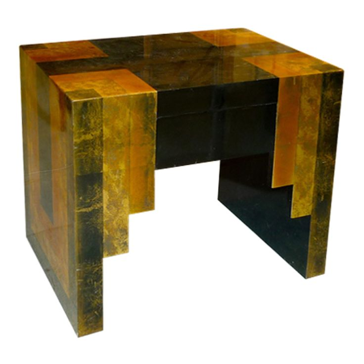 Egyptian Deco Side Table by Phyllis Morris (via @1stdibs)