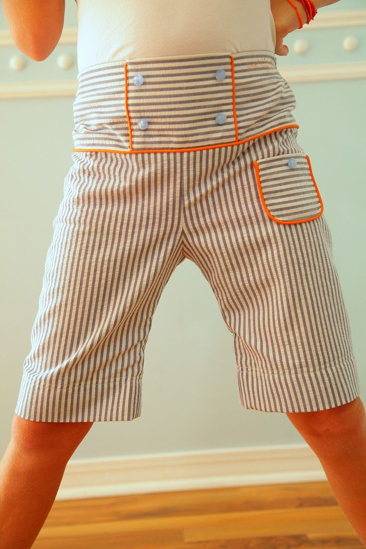 no big dill: DIY Buttonhole Elastic  shorts pattern from Japanese sewing book
