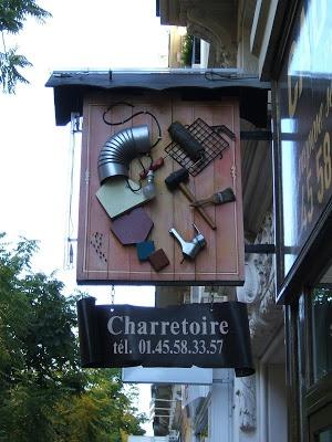 Places et rues de PARIS: Enseignes