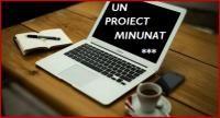 Anunt: Un proiect minunat!