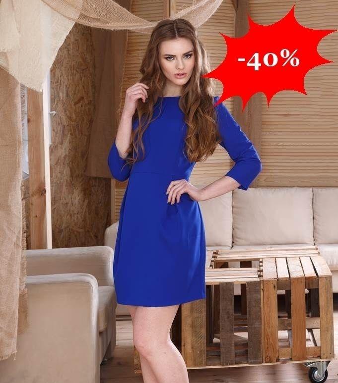 Rochie eleganta albastra cambrata http://ift.tt/29qs8ri